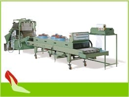GLUING MACHINE A/4 + DRYING MACHINE A/5 + CUTTING MACHINE A/9