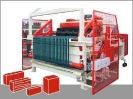 HARP TYPE BRICKS CUTTER